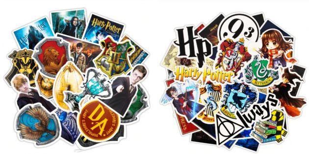 Стикеры с Гарри Поттером