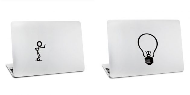 Наклейка на ноутбук для Mac