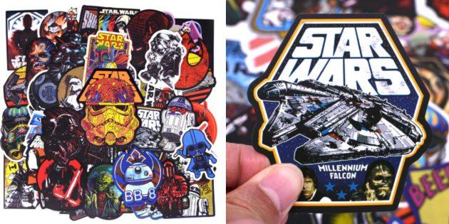 Наклейка на ноутбук со «Звёздными войнами»