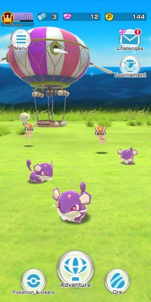 На мобильных устройствах вышла новая игра про покемонов (обновлено)