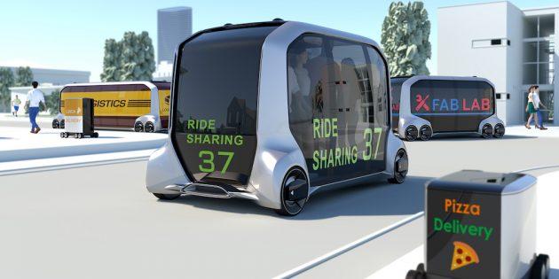 Роботизированное такси