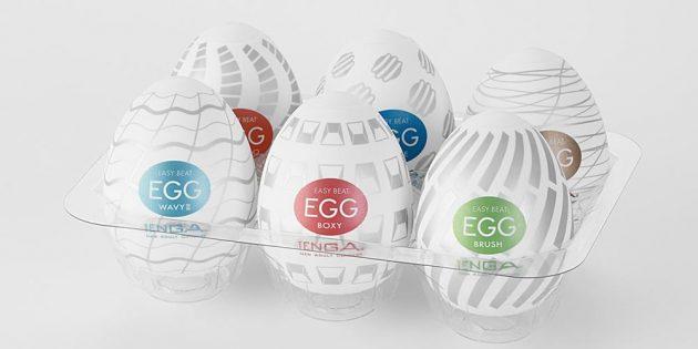 Интимные игрушки для путешествий: Tenga Egg