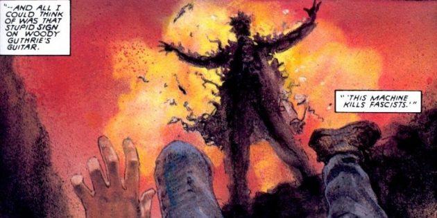 Неожиданные версии супергероев: Джонни Блейз просто умирает от ожогов