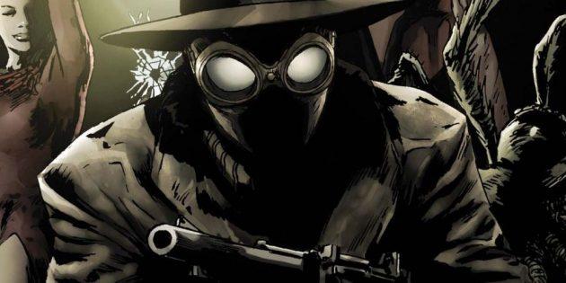 Неожиданные версии супергероев: Человек-паук носит чёрный костюм и шляпу, а на первое дело не забывает прихватить пистолет