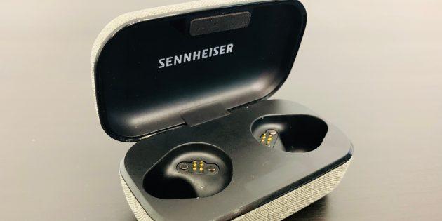 Sennheiser Momentum True Wireless: Кейс без наушников