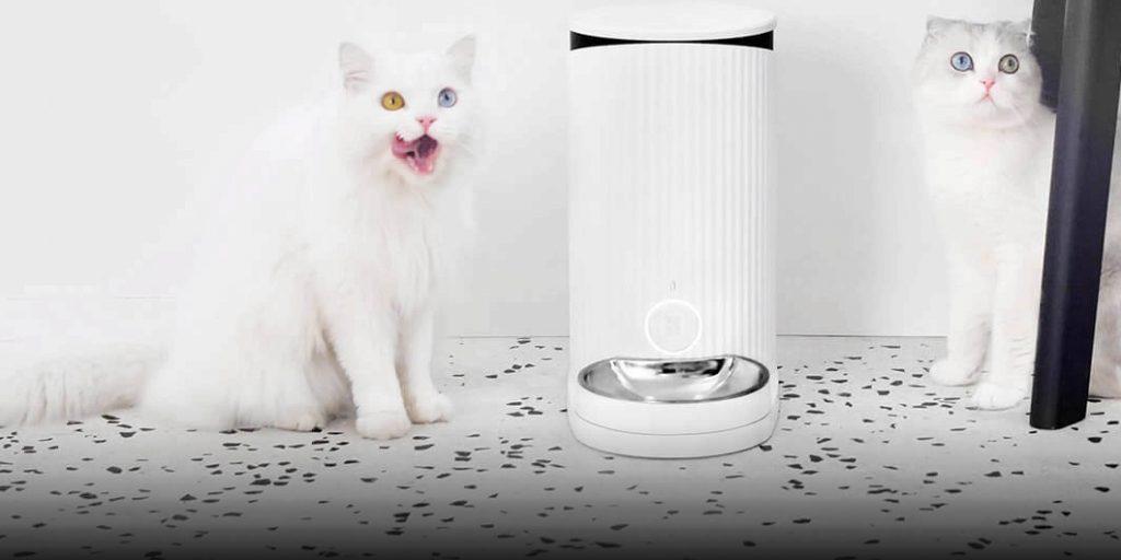 Xiaomi выпустила автоматическую кормушку для кошек и собак
