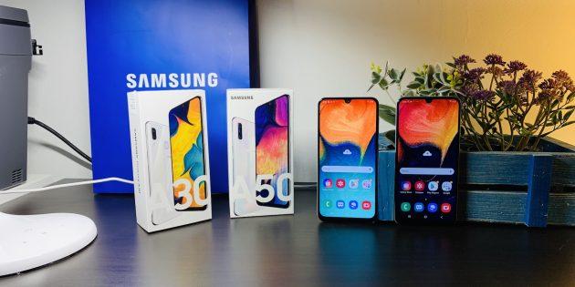 Обзор Galaxy A30 и Galaxy A50 — доступных смартфонов Samsung A-серии с флагманскими замашками