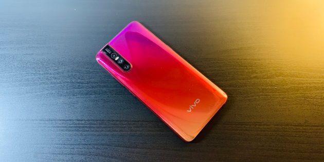 Обзор Vivo V15 Pro — смартфона с выдвижной фронтальной камерой и сканером отпечатка в экране