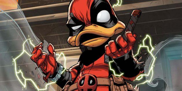Неожиданные версии супергероев: «Дэдпул-утка» — болтливый и пернатый наёмник