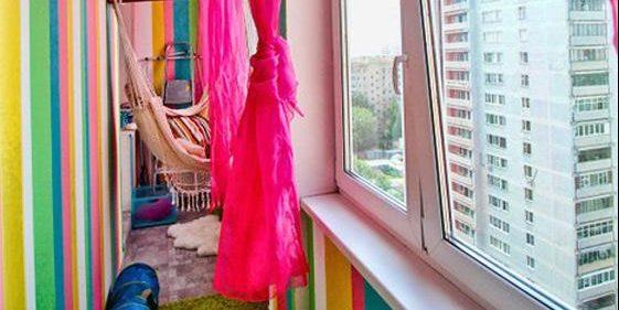 детская балкон