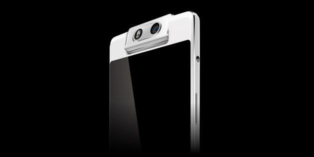 Смартфоны OPPO: OPPO решила отказаться от фронталки и сделала ставку на смартфон с вращающейся камерой