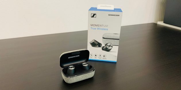 Sennheiser Momentum True Wireless: Общий вид
