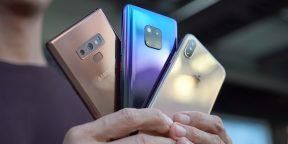 Apple в минусе, Huawei в плюсе: мировая статистика по продажам смартфонов