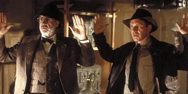 Джордж Лукас: Спилберг предложил Джорджу Лукасу ввести в сюжет отца Индианы Джонса