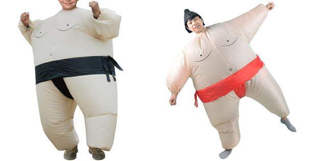 Надувной костюм сумоиста