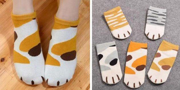 Носки-лапки