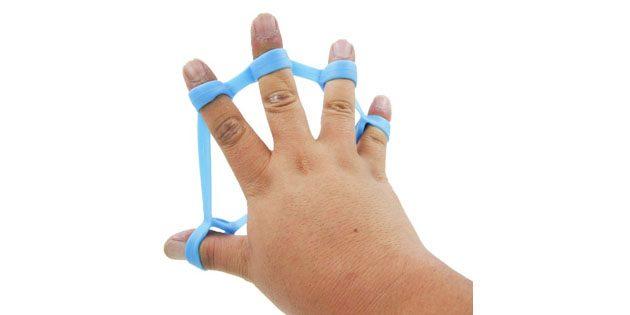 Эластичный тренажер для пальцев