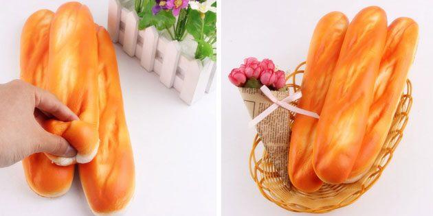 Декоративный мягкий батон
