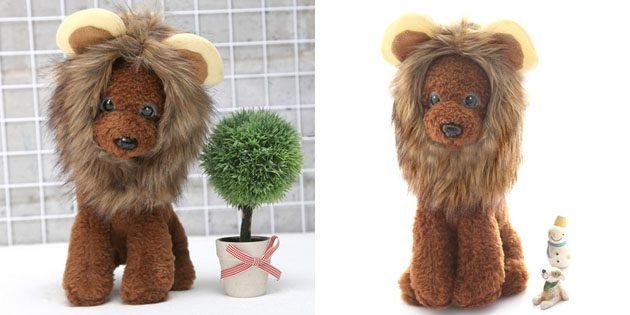 Парик льва для кота или собаки