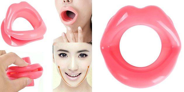 Тренажер-губы для мышц лица