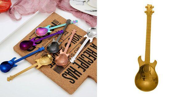 Чайная ложка-гитара