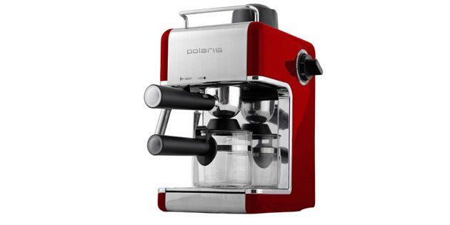Рожковая кофеварка для дома Polaris PCM 4002A