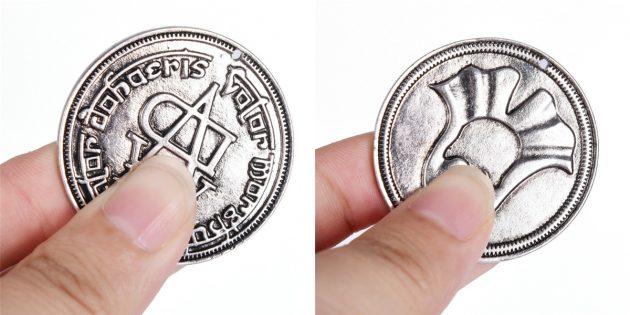 Монета Железного банка Браавоса