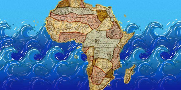 ТЕСТ: Какие моря и океаны омывают континенты?