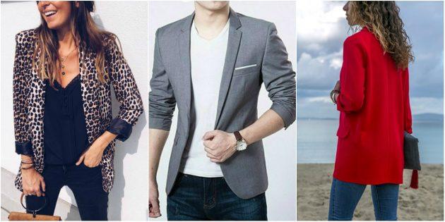 Модная одежда: образы с блейзерами