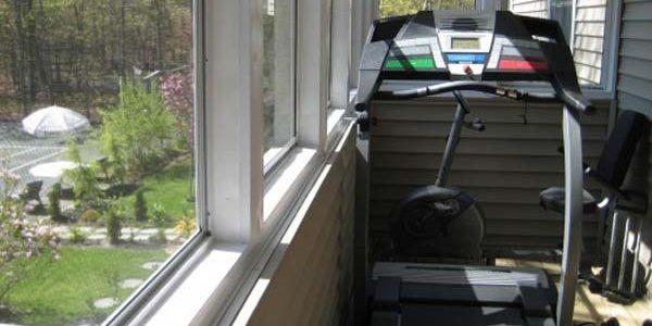 балкон спортзал