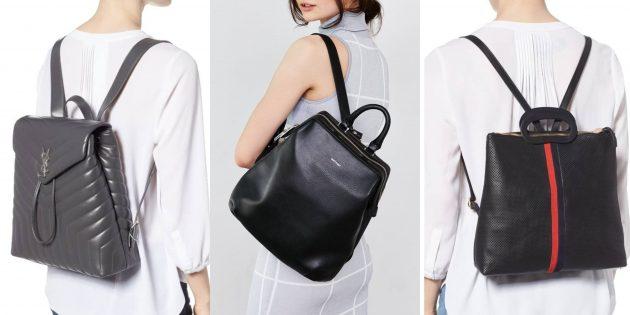 Модный рюкзак-саквояж