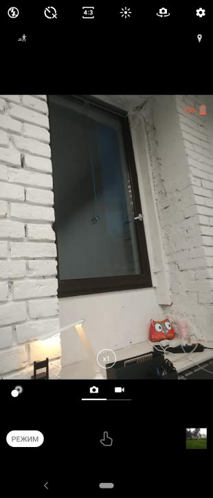 Sony Xperia 10Plus: интерфейс камеры