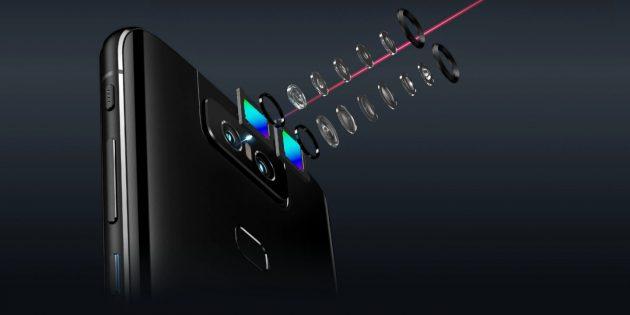 Asus представила безрамочный флагман ZenFone 6 с откидной камерой