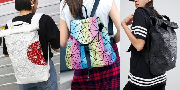 Рюкзак с трёхмерным рисунком