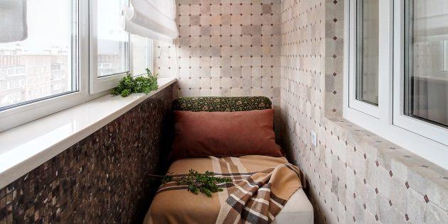 балкон спальня