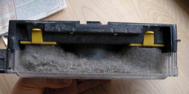 Как выбрать робот-пылесос: объём пылесборника