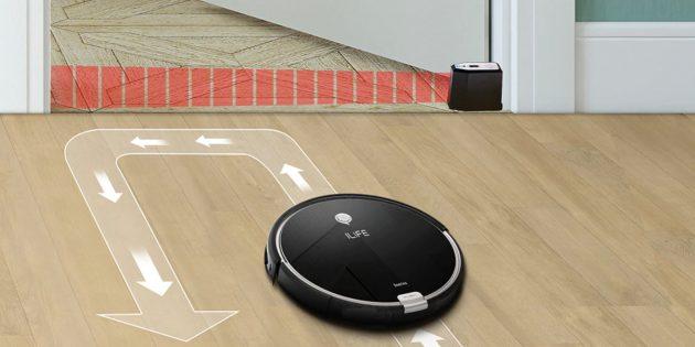 Как выбрать робот-пылесос: виртуальная стена