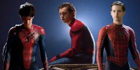Видео дня: три Человека-паука встречаются в одной киновселенной