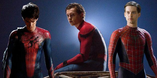 три Человека-паука