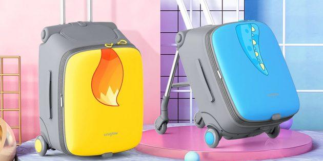 дизайн чемодана-коляски Xiaomi