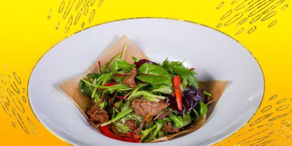 10 очень вкусных салатов с говядиной, которые точно стоит попробовать