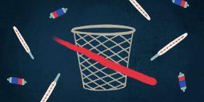 5 предметов, которые нельзя выбрасывать в мусорный бак