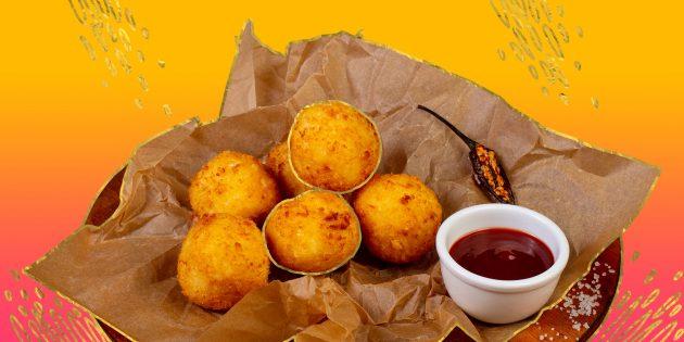13 рецептов сырных шариков, которые у вас точно получатся