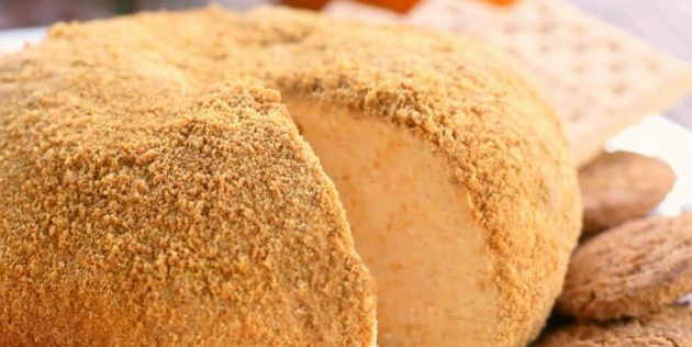 Сырный шар со вкусом тыквенного пирога