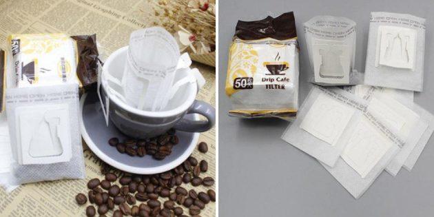 Пакеты для заваривания кофе