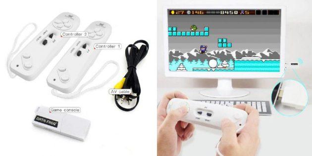 Мини-приставка для восьмибитных игр