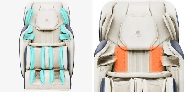 Xiaomi выпустила массажное кресло с режимом невесомости