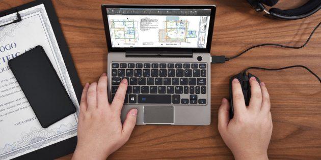 GPD P2 Max получил полноразмерную клавиатуру