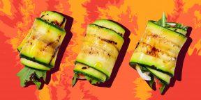 10 рулетиков из кабачков с сыром, курицей, творогом, яйцами и не только
