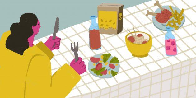 8бесполезных продуктов при правильном питании